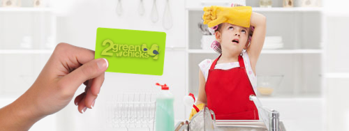 gift certificates for house cleaning