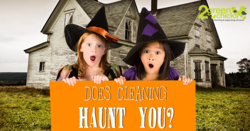 halloween special for home cleaning
