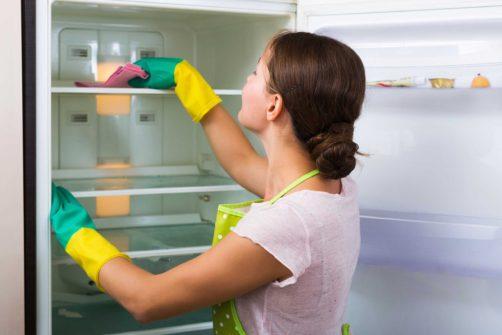 cleaning fridge in Norman, OK