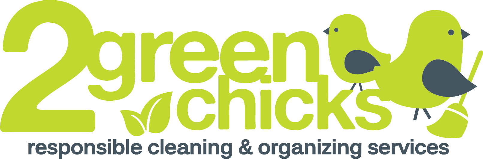 2 Green Chicks Logo