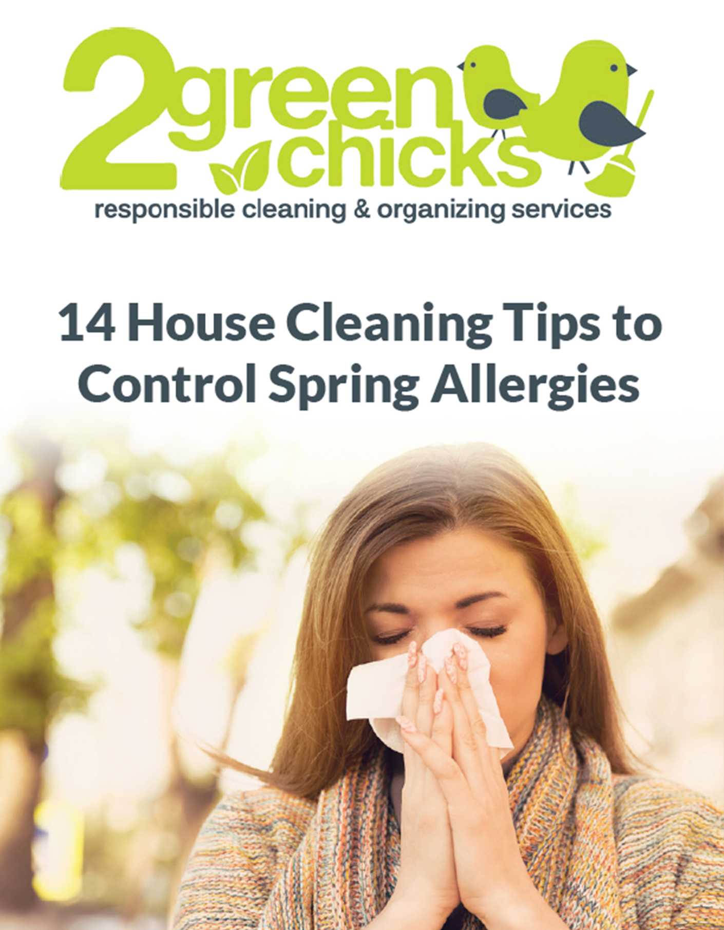 14 House Cleaning Tips to Control Spring Allergies